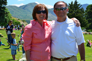 President and Sister Shumway on Memorial Day