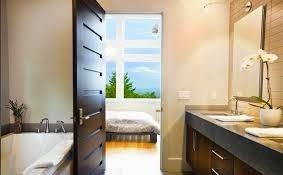 Fotos de puertas imagenes de puertas de madera para ba os for Modelos de puertas de bano de madera