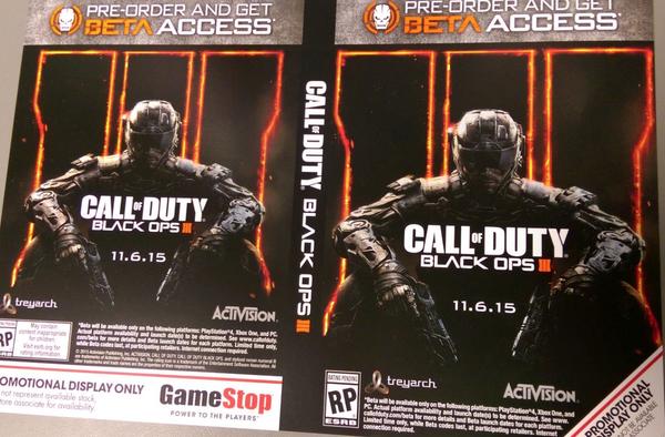 لعبة Call of Duty: Black Ops 3