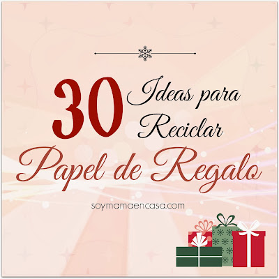 30 ideas reciclar papel de regalo Recycle Wrapping Paper Ideas
