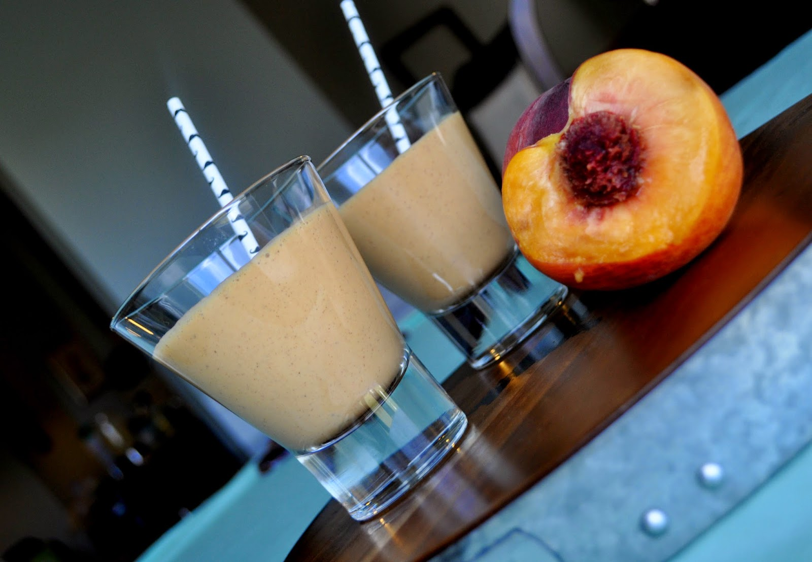 Peach Pie Smoothies