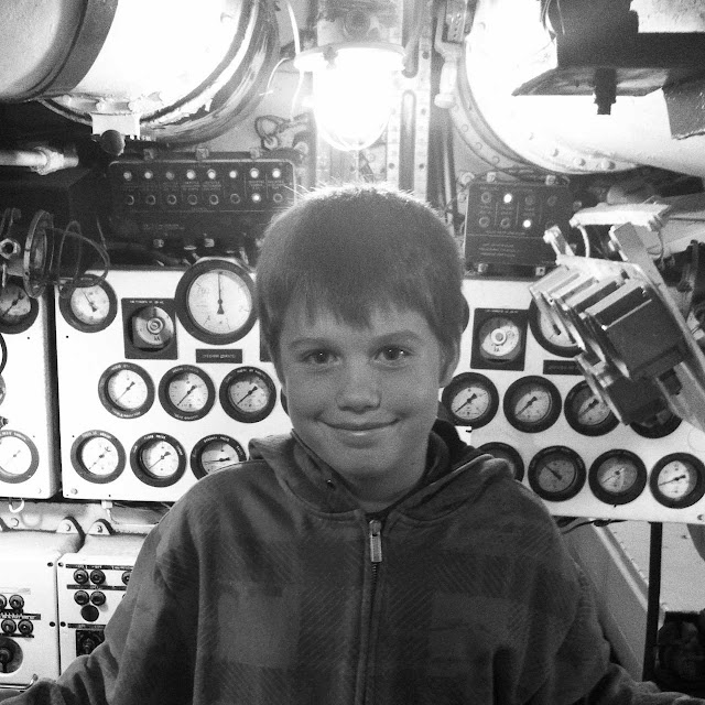 my little engineer aboard a submarine