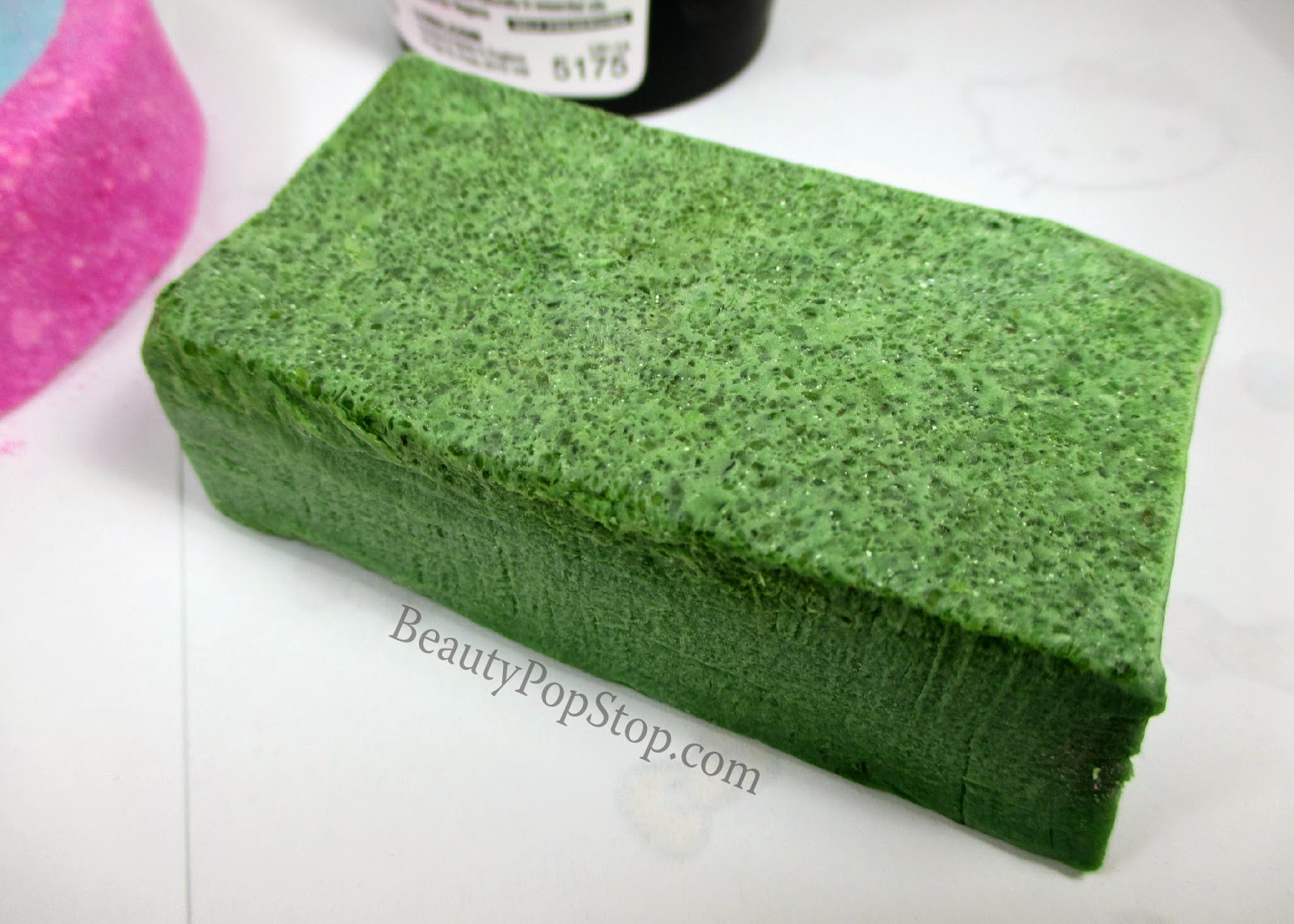 lush parsley porridge soap review