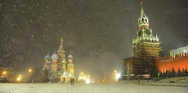 Στα λευκά ντύθηκε η Μόσχα! [photos]