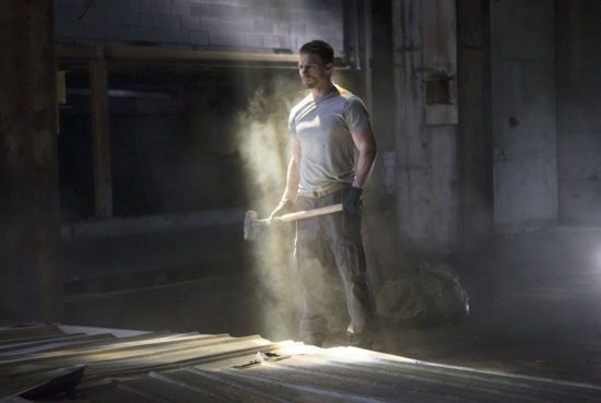 Stephen Amell es Oliver Queen en Arrow