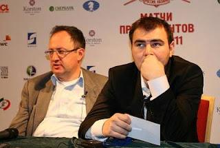 Boris Gelfand (2733) et Shakhriyar  Mamedyarov (2772) © Chess-News
