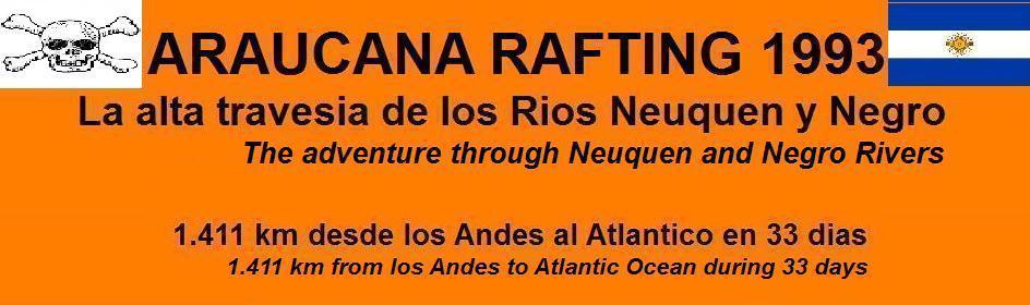 Araucana Rafting 1993