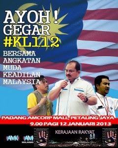 12 1 2013: Dari Padang Timur, Petaling Jaya ke Stadium Merdeka