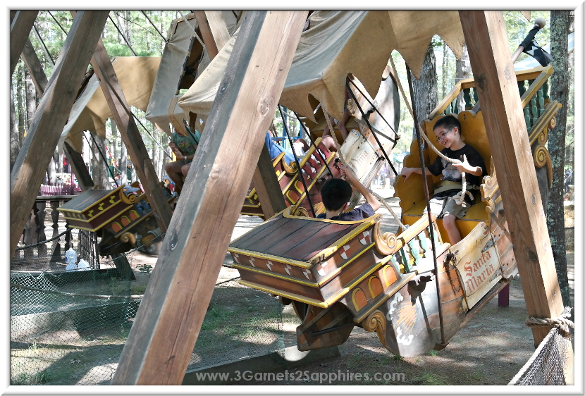 the kids dragon jousting ride - Picture of King Richard's Faire ...