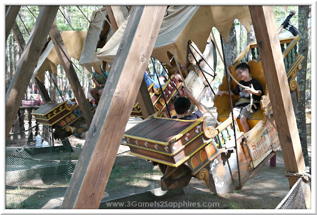 Pirates Ships ride at King Richard's Faire 2015 #krfaire