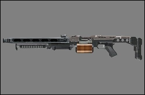 The gallery for --> Futuristic Light Machine Guns