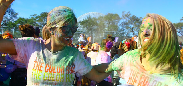 The Color Run, Montreal, race, fun