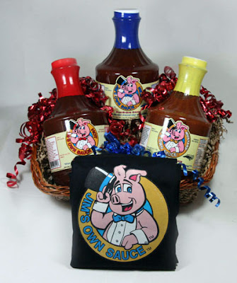 NC Barbecue sauce gift baskets
