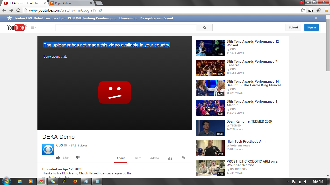 bypass youtube country block