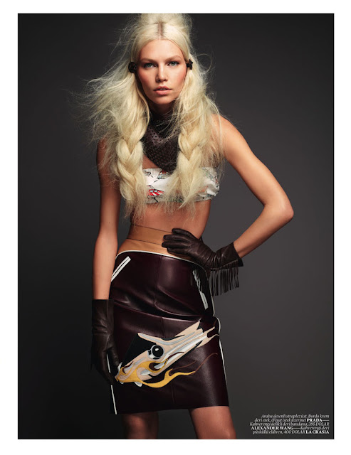 Aline Weber, David Vasiljevic, editorial, Katie Mossman, Vogue Turkey
