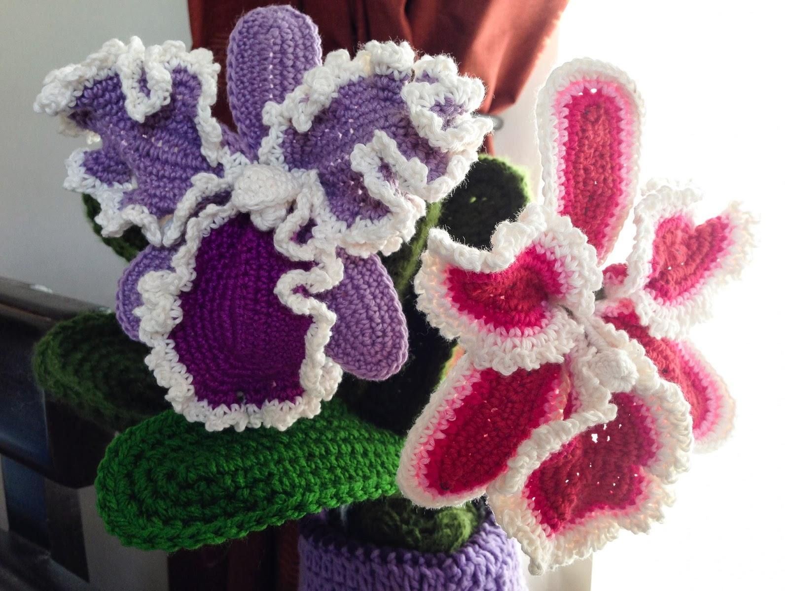 Crochet rockstar free patterns tutorial cattleya crochet flower ccuart Gallery