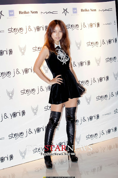 Lee Hyori Seoul Fashion Week 2014