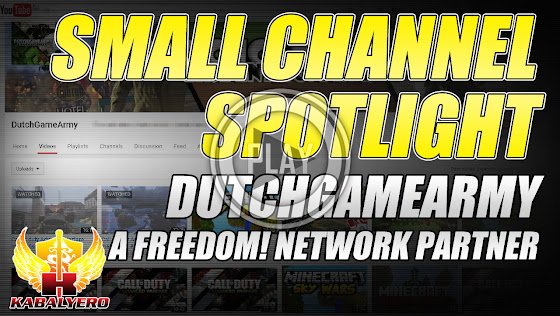 Small Channel Spotlight ★ DutchGameArmy, A Freedom Network Partner