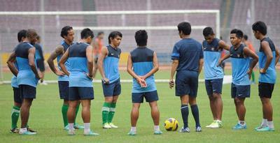 Squad baru TimNas pada piala AFF 2012 di malaysia