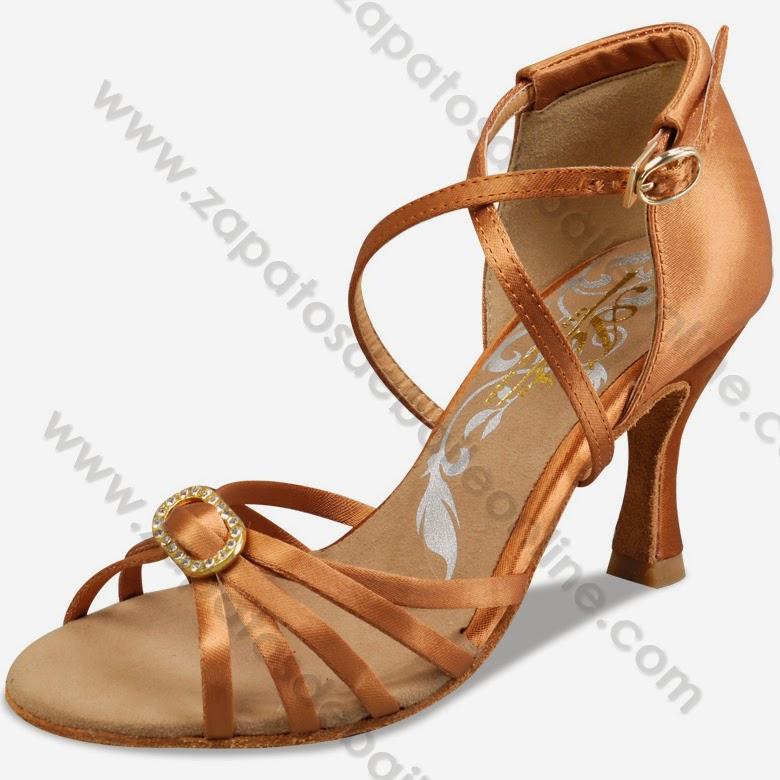 zapatos de baile latino Guils - ADS con cristales