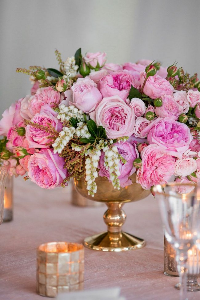 37 fotos de centros de mesa para boda insp rate - Centros de mesa elegantes ...