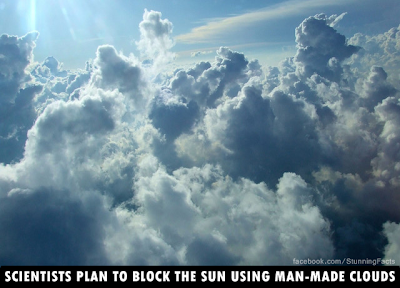Scientists Plan to Block the Sun Using Man-Made Clouds