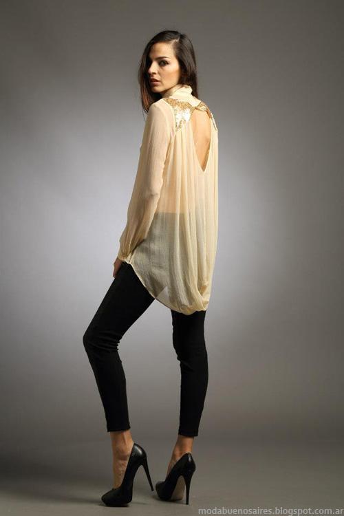 Blusas invierno 2013 moda mujer marca Sathya.