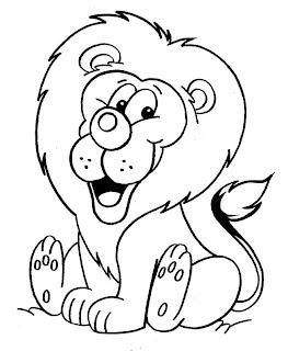 Imagens para pintura e decoupage de Leões