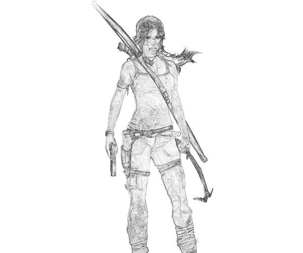 printable-tomb-riders-lara-croft-characters-coloring-pages