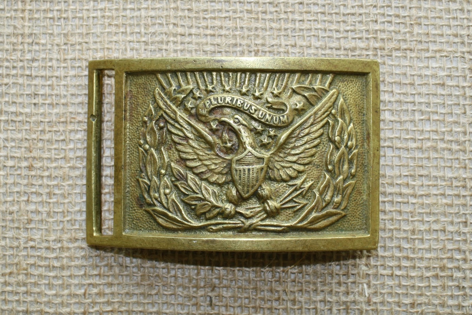 how to make a civil war buckle