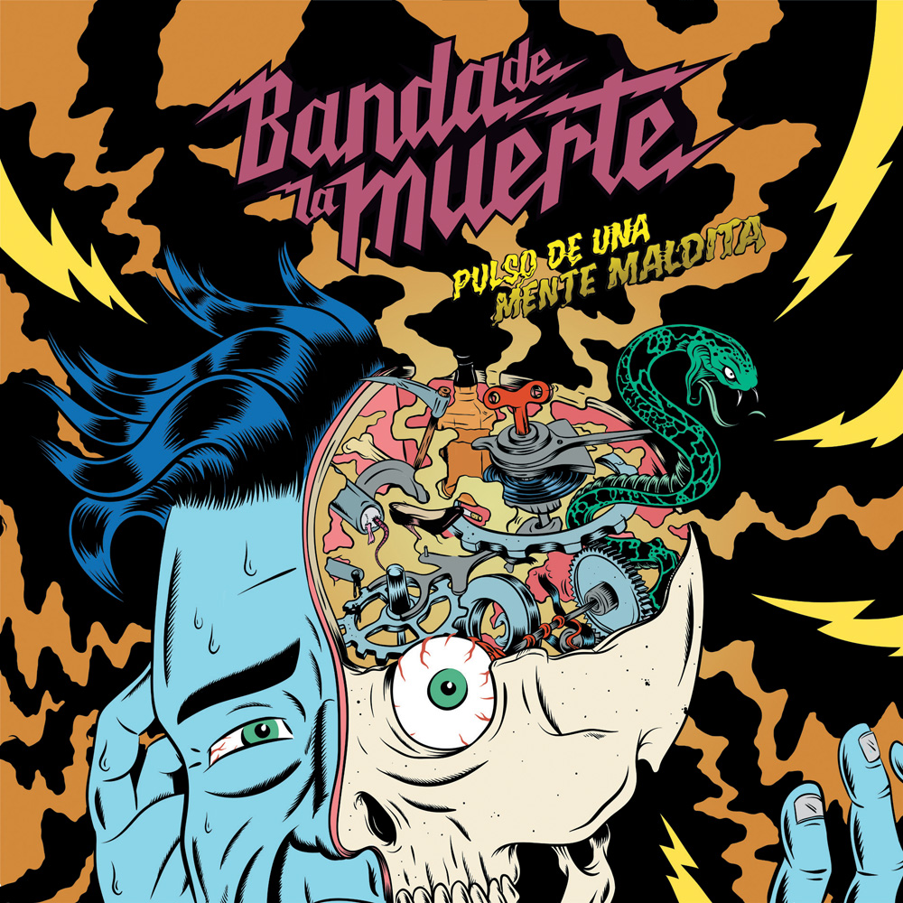 The Sludgelord February 2012 Storm Electronica April Banda De La Muerte Album Review