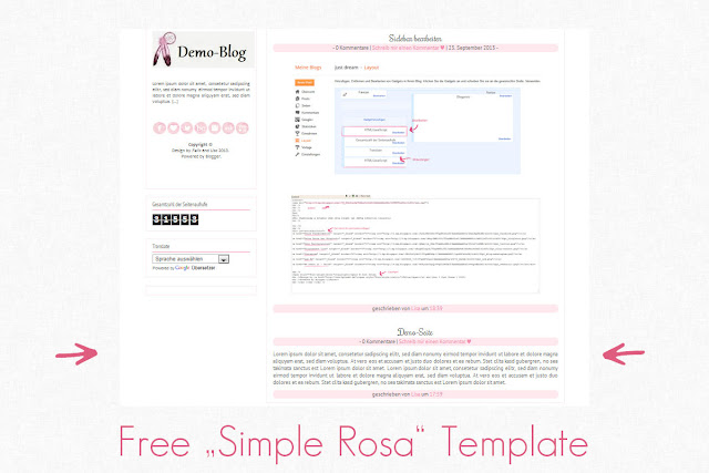 Copy Paste Love | by MiraDesigns: Template