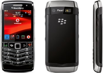 Blackberry 9105 Pearl Black, Hanya 1.399.000