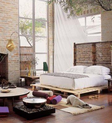 cama feita com pallets : Blog de Decorar: 20 Camas Feitas do maravilhoso Pallet