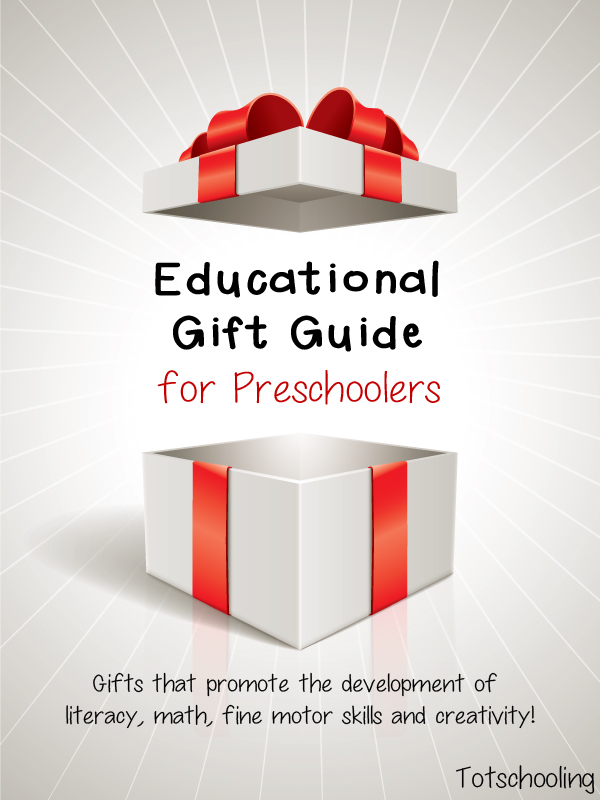 Educational Gift Guide for Preschoolers