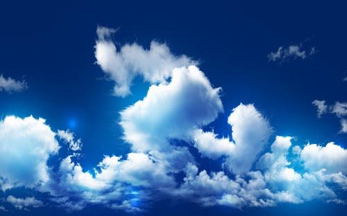 Gambar Birunya Langit Terkeren
