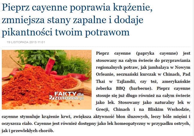 http://faktydlazdrowia.pl/pieprz-cayenne-poprawia-krazenie-zmniejsza-stany-zapalne-dodaje-pikantnosci-twoim-potrawom/