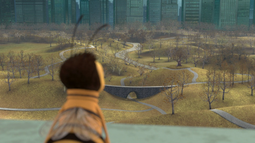 The Movie Bee And Shows A Scene Of Overlooking Central Park Dead Desolate Place Depicting What World Would Look Like Without Bees
