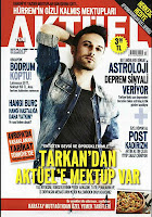 Current affairs magazine Yeni Aktuel has featured Tarkan on its front cover