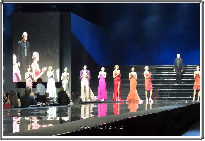 Gianni Calignano Collection. Moscow Fashion Expo - 2007.