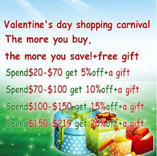 Special Valentine's Day Discount Activity