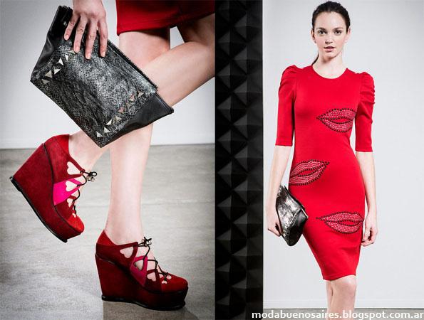 Vestidos Jazmin Chebar moda invierno 2013