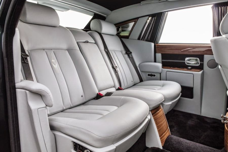 Rolls-Royce Phantom Metropolitan Collection (2014) Rear Seats