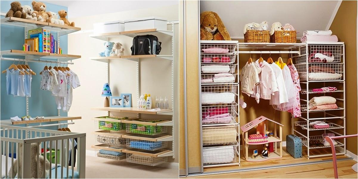 I d e a organizar armarios de ni os y beb s - Ideas para organizar juguetes ninos ...