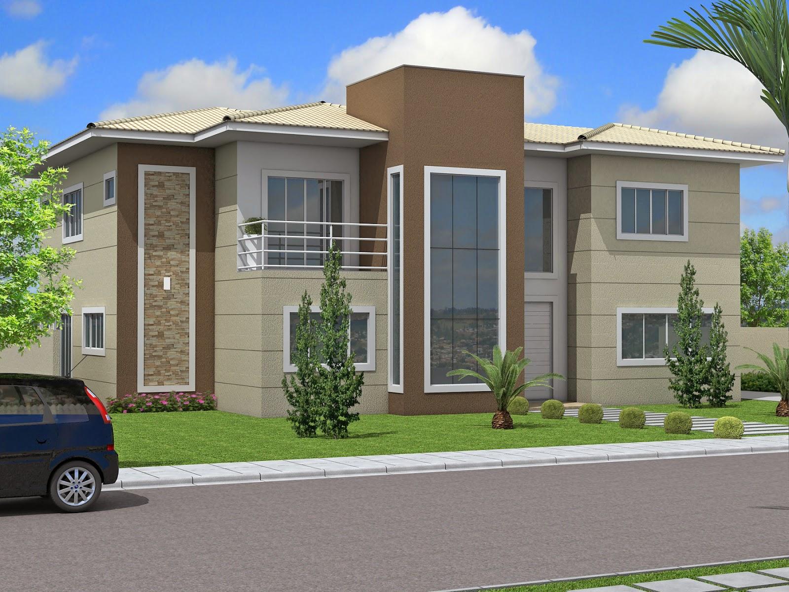 Espeloteada e patricinha cor da fachada e como conciliar vontades opostas - Fachada de casas ...