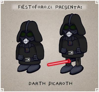 Indio picaro tipo Darth Vader