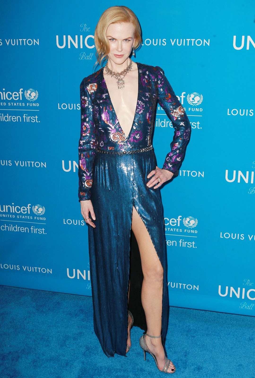 Nicole Kidman Dazzles in Fred Leighton at the UNICEF Ball