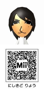 錦戸亮(関ジャニ∞)のMii QRコード トモダチコレクション新生活