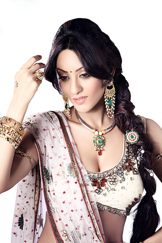 , Vedita Pratap Singh Jewelry Ad Stills