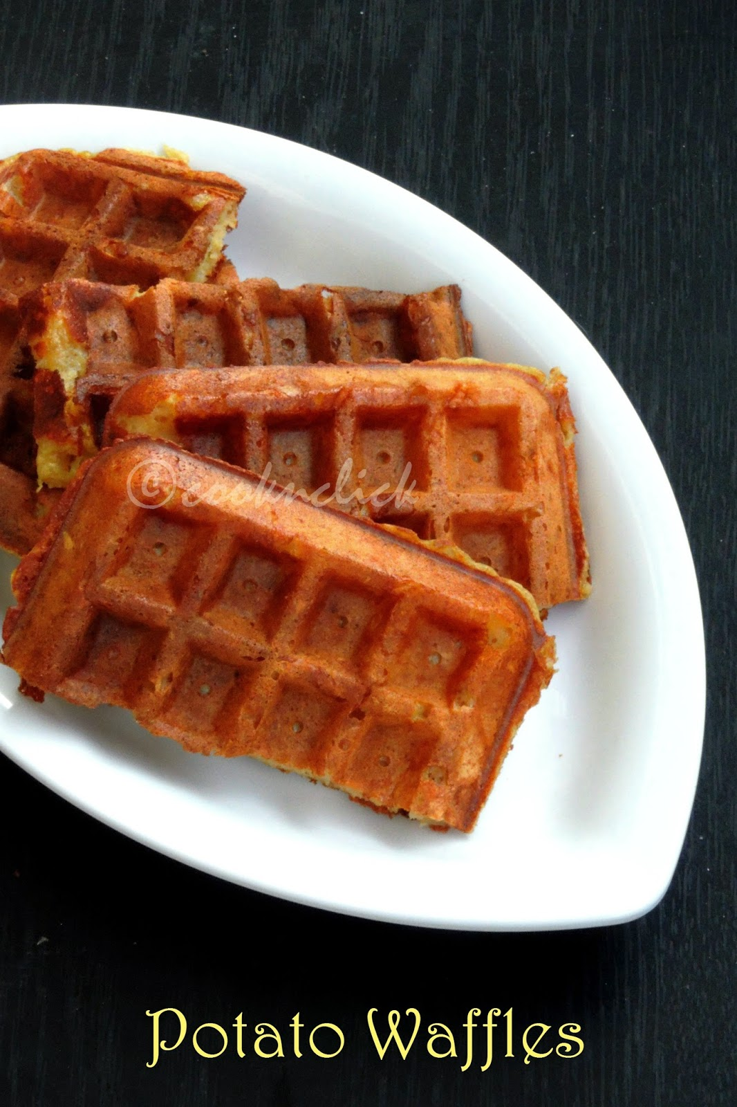 Potato Waffle, Potato Lattice Waffle